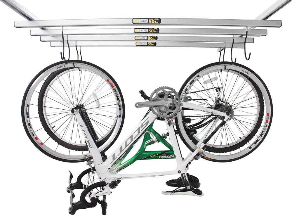 Saris Cycleglide Ceiling Mounted 4 Bike Storage System
