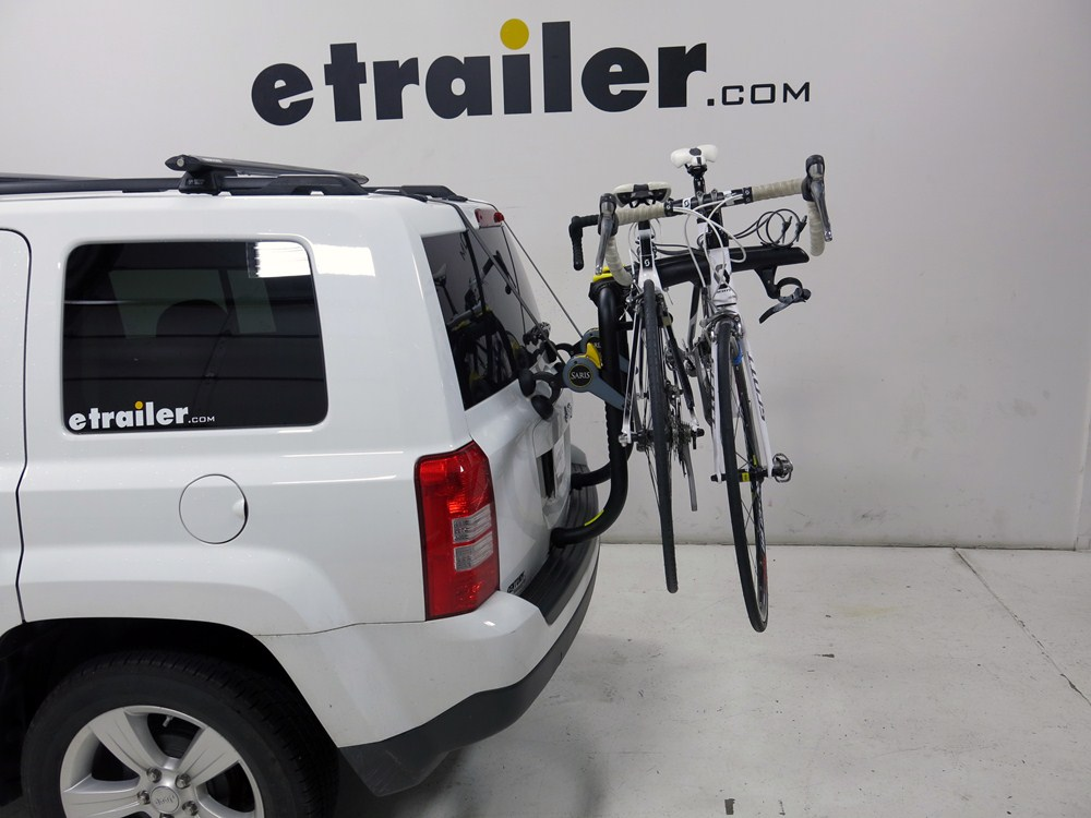 Saris Bones Rs 3 Bike Carrier Adjustable Arms Trunk