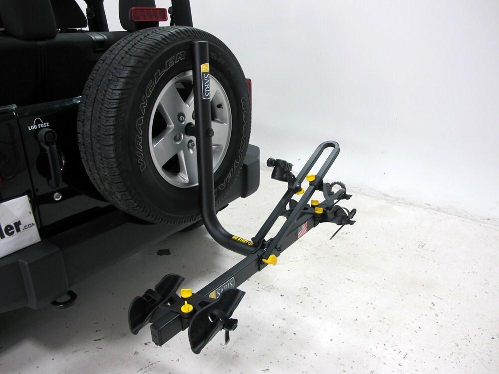 Saris Freedom 2 Bike Rack Platform Style Spare Tire Mount