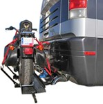 "Blue Ox Motorcycle Carrier I for Motor Homes - With Ramp - 86"" x 8"" - 1,000 lbs"