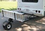 "Blue Ox Wheeled SportCarrier II for 3-Receiver Hitch - 84"" Long x 48"" Wide - 1,000 lbs"