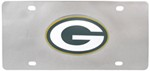 Green Bay Packers NFL Stainless Steel License Plate