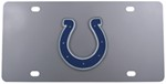 Indianapolis Colts NFL Stainless Steel License Plate
