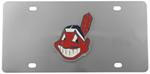 Cleveland Indians MLB Stainless Steel License Plate