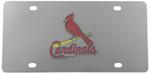 St. Louis Cardinals MLB Stainless Steel License Plate