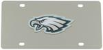 Philadelphia Eagles Logo NFL Stainless License Plate