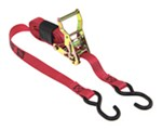 "Snap-Loc S-Hook Tie-Down Strap with Ratchet - 1"" x 8' - 2,500 lbs"