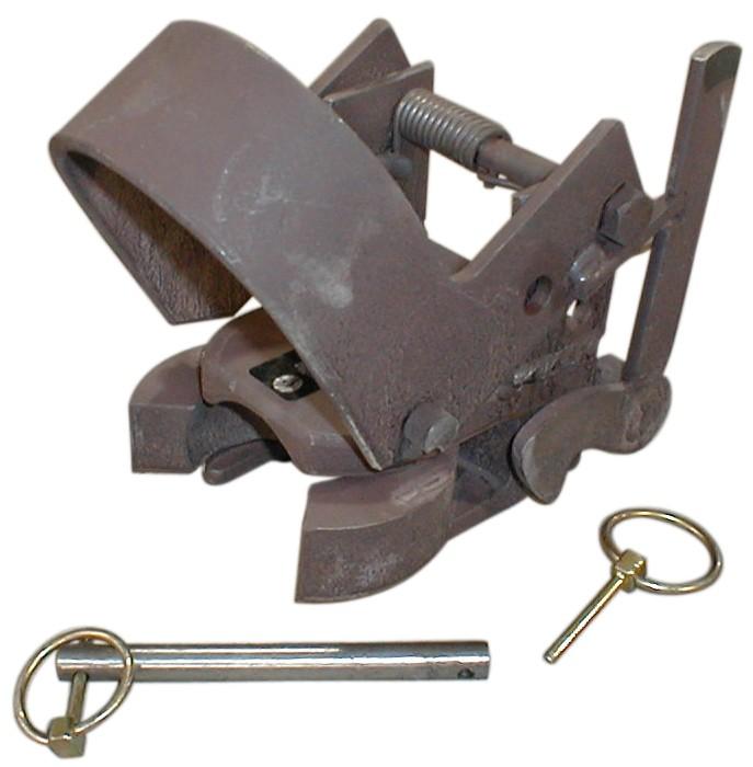 Gooseneck Hitch Coupler : Gooseneck coupler k auto lock trailer sm np