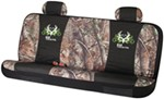 Bone Collector Universal Fit Bench Seat Cover - Polyester - Realtree AP Camo and Black - Qty 1
