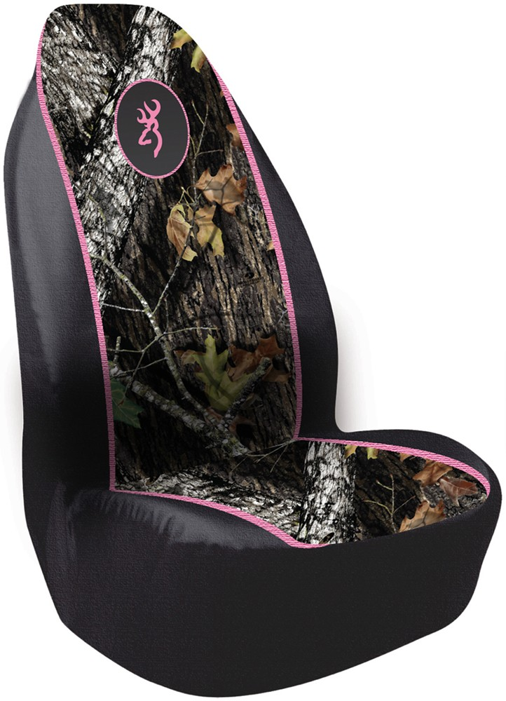 browning for her pullover bucket seat cover polyester break up camo and pink qty 1 spg. Black Bedroom Furniture Sets. Home Design Ideas