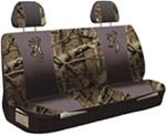 Browning Universal Fit Bench Seat Cover - Polyester - Break-Up Infinity Camo and Black - Qty 1