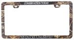 Ducks Unlimited Plastic License Plate Frame - Conservation Today - Camouflage