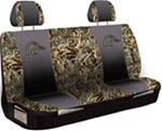 Ducks Unlimited Universal Fit Bench Seat Cover - Polyester - Realtree Max-4 Camo and Black - Qty 1