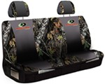 Mossy Oak Universal Fit Bench Seat Cover - Polyester - Break-Up Camo and Black - Qty 1