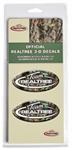 Team Realtree 3-D Decal - Camouflage - 2 Pack
