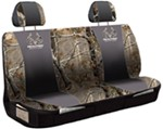 Realtree Outfitters Universal Fit Bench Seat Cover - Polyester - Realtree AP Camo and Black - Qty 1