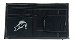 Striker Vehicle Visor Organizer - Classic Fish - Black and Gray