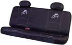 Striker Universal Fit Bench Seat Cover - Polyester - Classic Fish Logo - Black and Gray - Qty 1