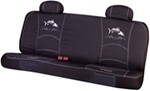 Striker Universal Fit Bench Seat Cover - Polyester - Primal Fish Logo - Black/White/Gray - Qty 1