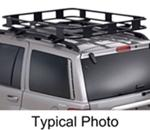 "Surco Safari Rack 5.0 Rooftop Cargo Basket for Factory Rails - 100"" Long x 65"" Wide"