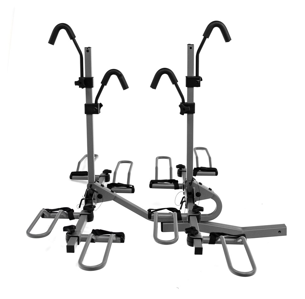 4 bikes fits 2 inch hitch wheel and frame mount class 3
