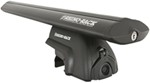 "Rhino-Rack SRB Roof Rack for Flush, Factory Side Rails - Sportz Crossbars - 53"" Long - Black"