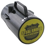 Steal Shield Cut-Out Combo Trailer Coupler Lock for Channel-Tongue, Trigger-Latch-Style Couplers