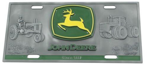 John Deere Ledger Plates : John deere specialty plate d license siskiyou