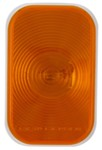 Sealed, Flush Mount, Tall Rectangle Trailer Turn Signal and Parking Light - Amber