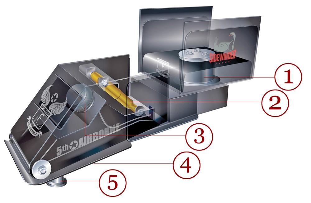 5th Wheel Pin Box Extension : Short bed th wheel pin box for trucks free engine