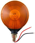 "Dual-Face Trailer Parking/Turn Signal Light - Post Mount - 4"" Round - Amber/Amber"