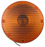 "7"" Round Transit Turn Signal Light - Amber"