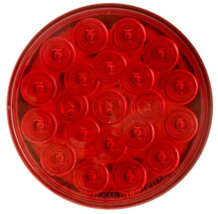 Sealed  4 U0026quot  Round  Led Stop  Turn  Tail Light  21 Diode