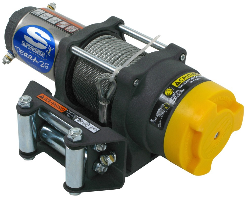 Superwinch Terra Series ATV Winch - Wire Rope - Roller ...