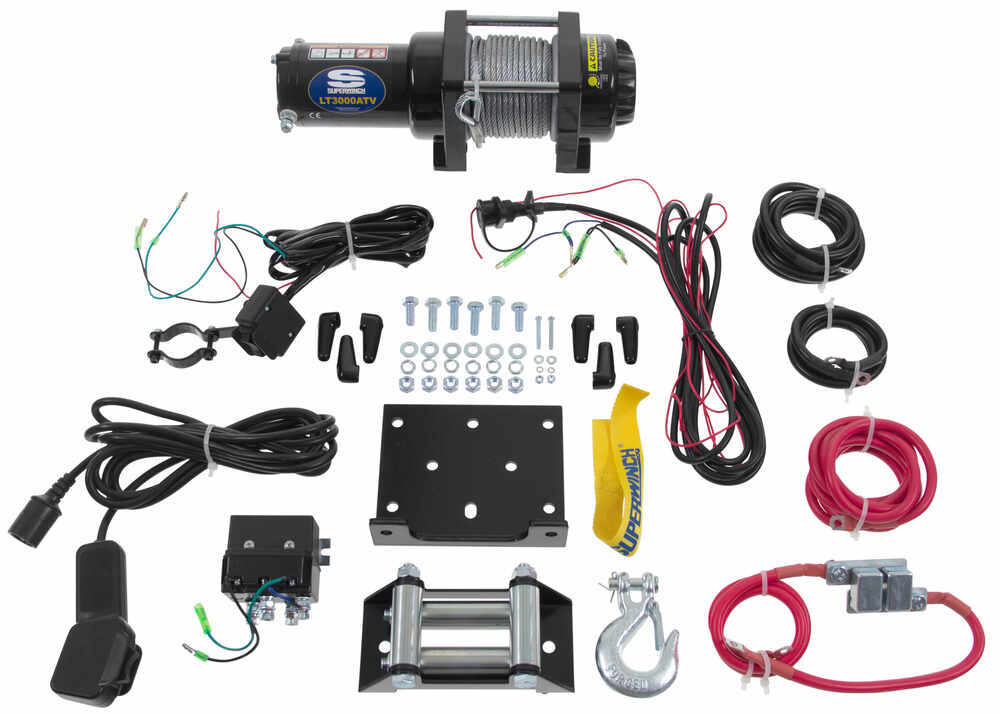 superwinch lt3000atv winch