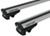 "Rhino-Rack SXB Roof Rack for Raised, Factory Side Rails - Aero Crossbars - 53"" Long - Silver"