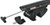 "Rhino-Rack SXBS Roof Rack for Raised, Factory Side Rails - Sportz Crossbars - 50"" Long - Black"