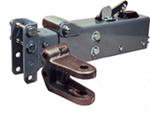 Titan Adjustable-Channel Brake Actuator - Painted - Drum - Clevis - Weld On - 12,500 lbs