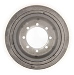 Titan 8 on 5-1/2 Demountable Brake Drum with Reinforcement Plate - 13""