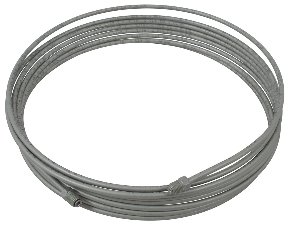 Replacement Steel Brake Lines : Titan steel brake line tubing  accessories and