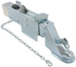 "Titan Zinc-Plated Brake Actuator w/ Drop, Lockout Shield - Disc - 2-5/16"" Ball - 12,500 lbs"