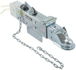"Titan Zinc-Plated Brake Actuator w/ Electric Lockout - Disc - 2-5/16"" Ball - 12,500 lbs"