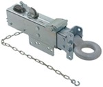 Titan Zinc-Plated, Adjustable-Channel Brake Actuator - Disc - Lunette Ring - Bolt On - 12,500 lbs