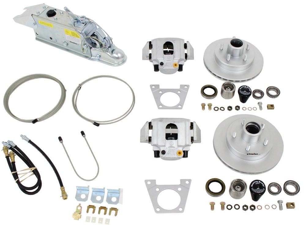 Titan Disc Brake Kit And Leverlock Actuator W Electric