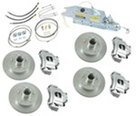 Titan Disc Brake Kit and Leverlock Actuator w/ Electric Lockout - Tandem, 3,500-lb Axle