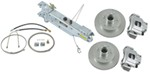 Titan Disc Brake Kit and Swing-Away Actuator w/ Manual Lockout - Single, 3,500-lb Axle