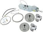 Titan Disc Brake Kit and Aero 7500 Actuator w/ Manual Lockout - Single, 3,500-lb Axle