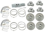 Titan Disc Brake Kit and Aero 7500 Actuator w/ Manual Lockout - Tandem, 3,500-lb Axle