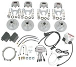 Titan Disc Brake Kit and BrakeRite II SD Electric-Hydraulic Actuator - Tandem, 3,500-lb Axle