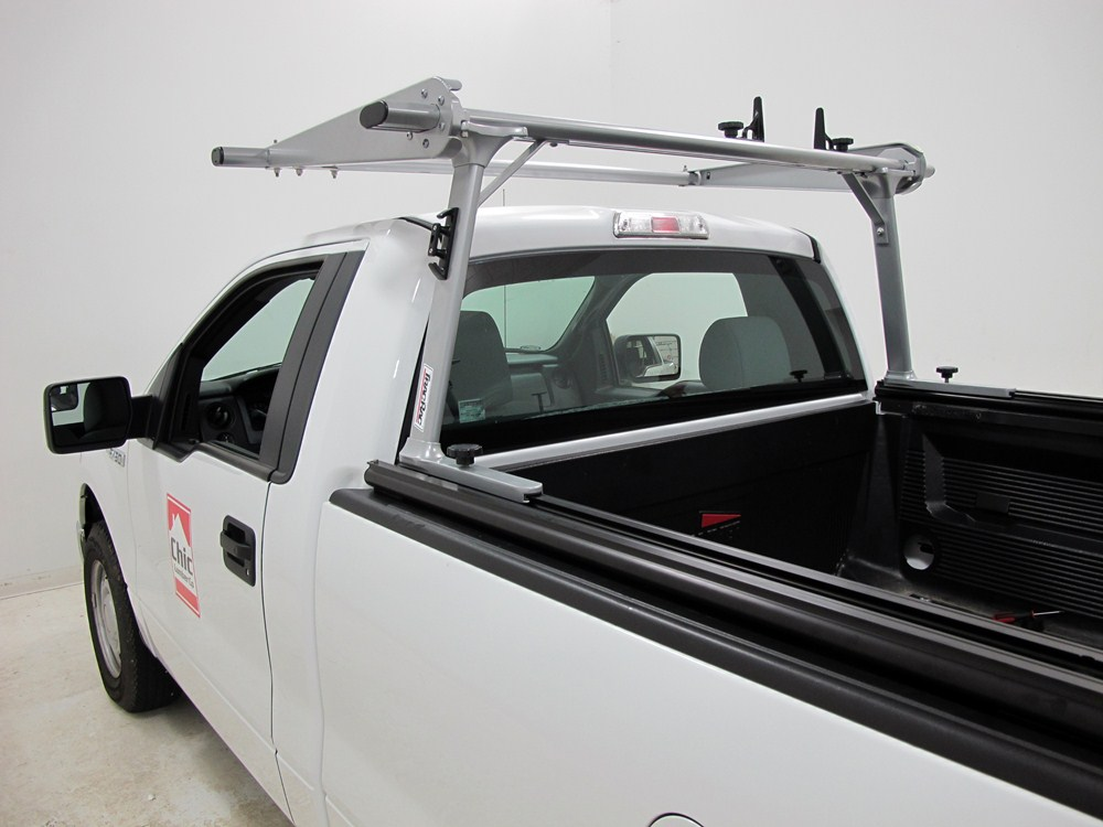 Tracrac Sr Sliding Truck Bed Ladder Rack W Over The Cab